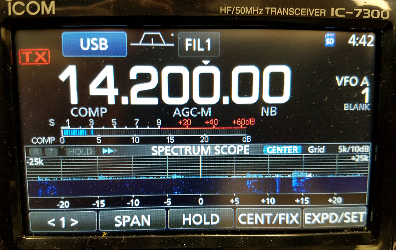 Anan7000/HPSDR and Icom IC-7300 S-Meter Calibration | John's Geekblog